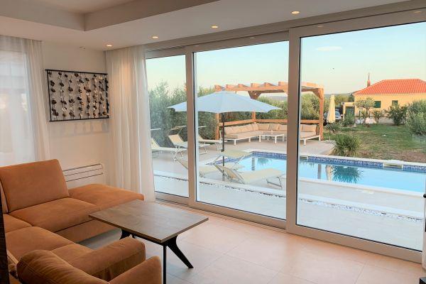 Livingroom - Apartments in Trogir