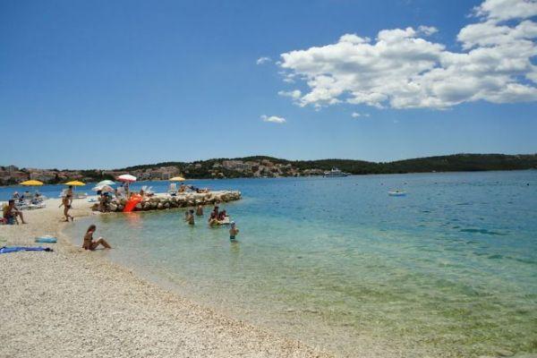 Beaches in Trogir
